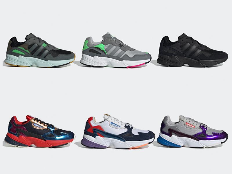 adidas Falcon and YUNG-96 drop tomorrow