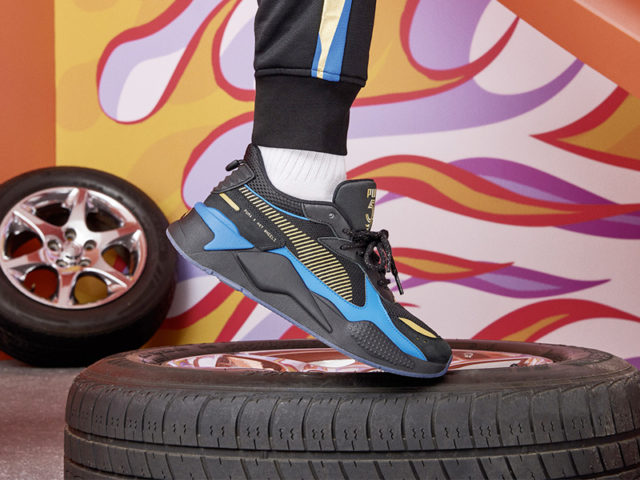 TODAY: PUMA RS-X 'Hot Wheels' Pack
