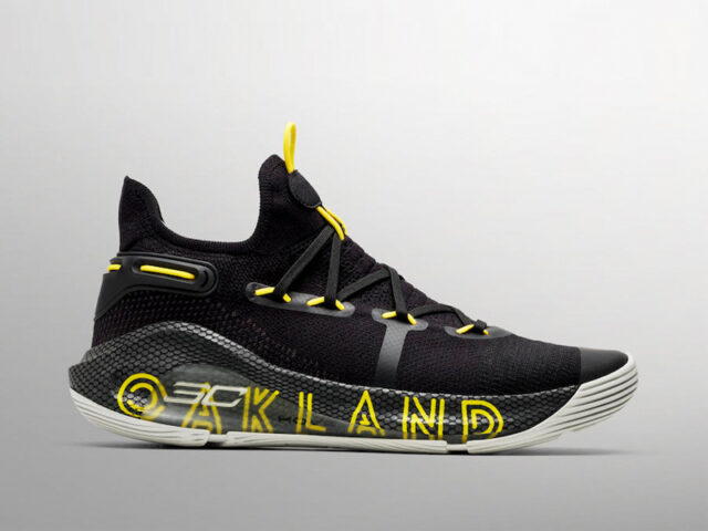 Under Armour releases the Curry 6 'Thank You, Oakland' in time for the NBA Finals