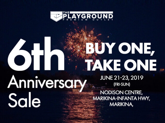 SALE ALERT: The Playground 6th Anniversary Sale is happening this weekend
