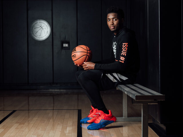 adidas and Marvel launch Donovan Mitchell's first sig, the D.O.N. Issue #1