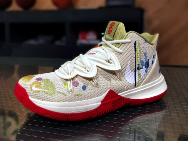 Kyrie Irving collabs with Bandulu Street Couture for this Kyrie 5 PE