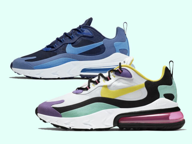 ICYMI: New Colorways for the Nike Air Max 270 React