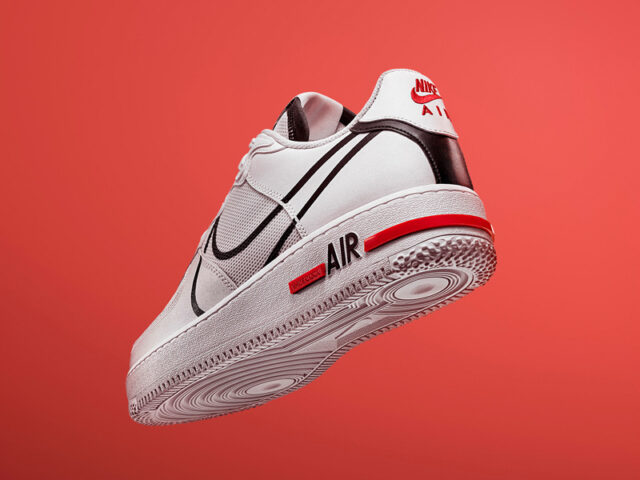 Nike adds REACT to the AF1