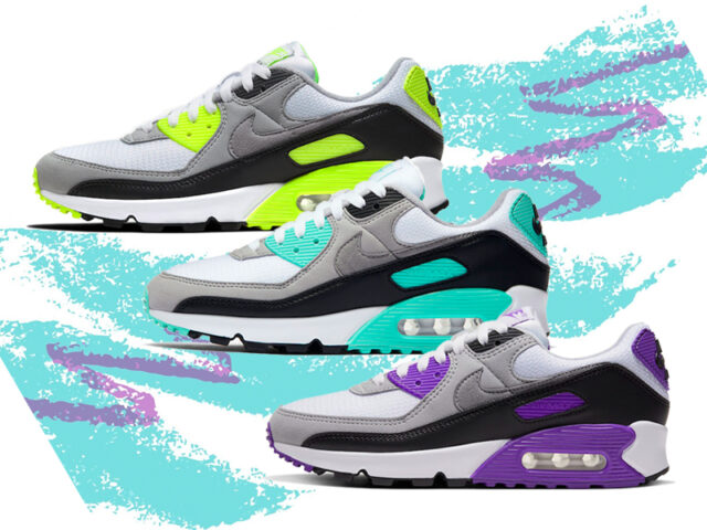 Ready for 90? Nike's gearing up for the Air Max 90s 30th anniversary