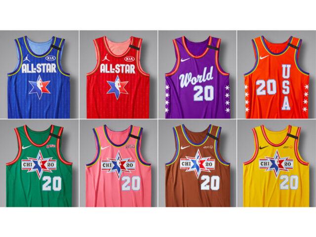 LOOK: Jordan + Nike NBA All-Star 2020 Uniforms