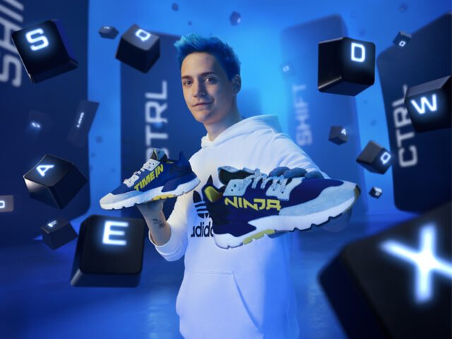 TIME IN: adidas releases their first collab with Ninja