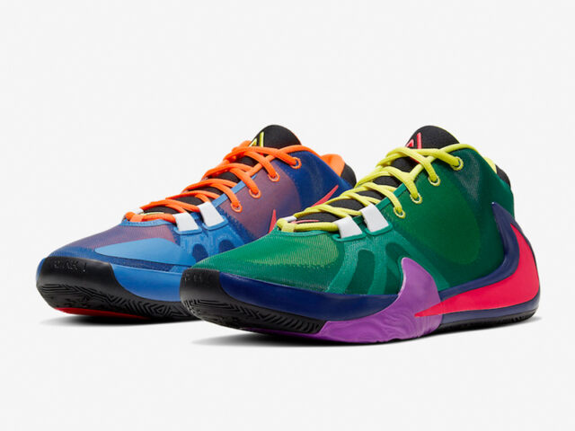 Giannis brings more colors to the Zoom Freak 1 'Roots'