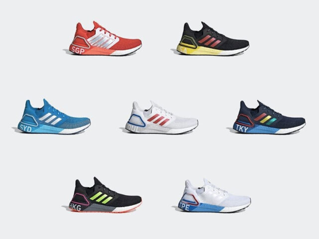Rep your favorite city on your next run with the UltraBoost 20 'City Pack'