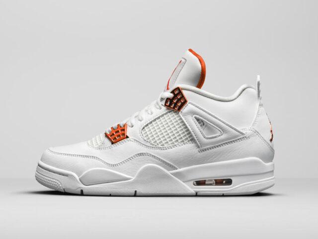 OUT NOW: Air Jordan IV 'Orange Metallic'