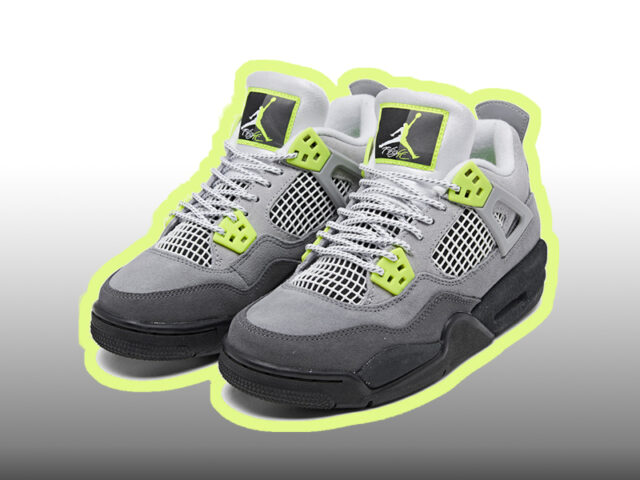 Now Available: Air Jordan IV '95 Neon'