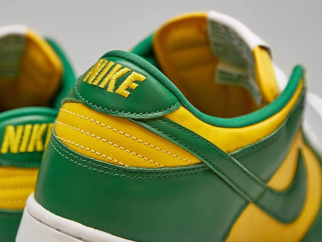 Team Tones: Nike Dunk Low 'Brazil'