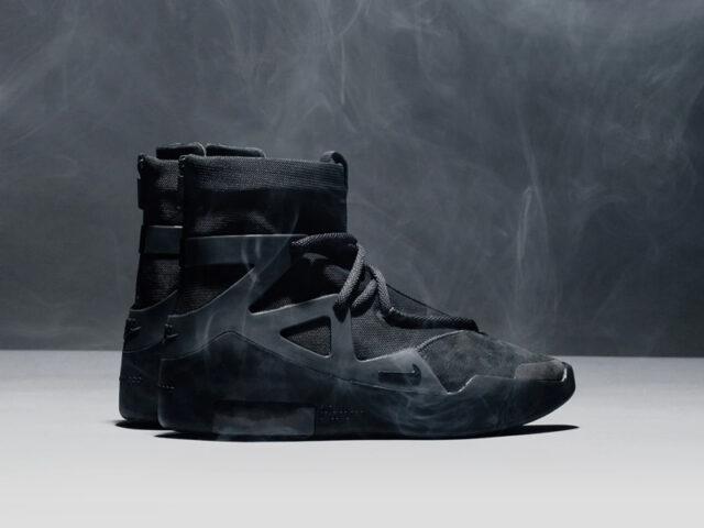 Release Reminder: Nike Air Fear of God 1 'Triple Black'