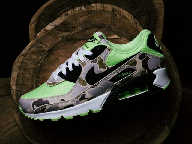 TODAY: Nike Air Max 90 'Ghost Green Duck Camo'