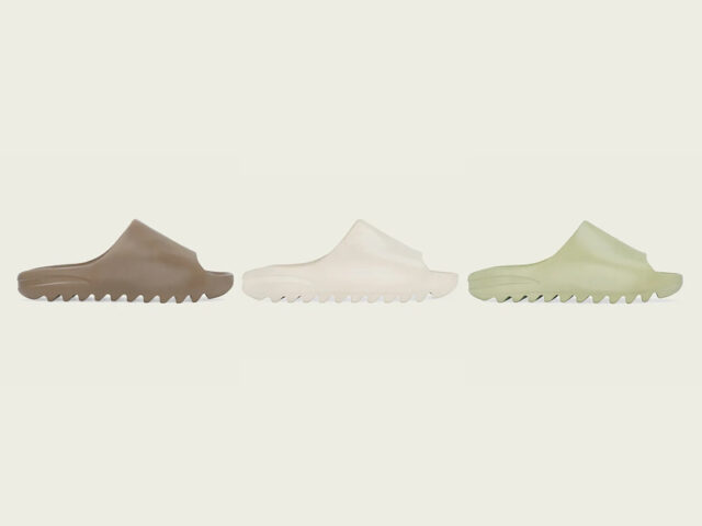 SLIDE SZN: adidas is releasing the YEEZY SLIDE on Tuesday