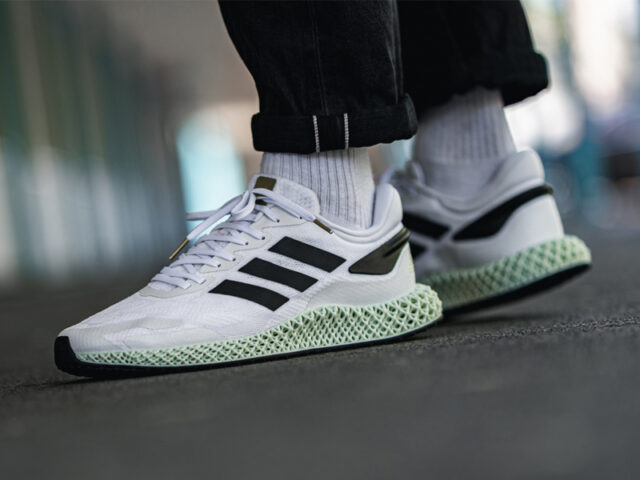 Available Now: adidas 4D Run 1.0 'Cloud White'