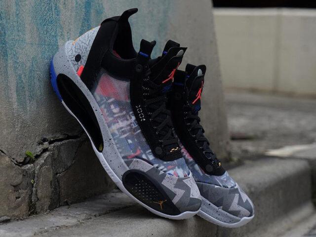You can cop the Air Jordan 34 Low 'Print' now