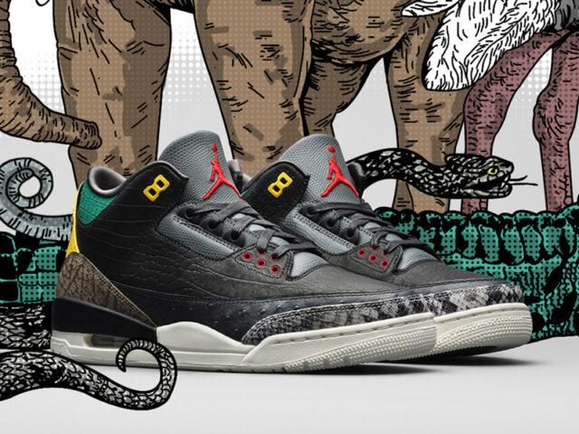 Instincts: Jordan Brand releases the Air Jordan 3 'Animal Instinct 2.0'