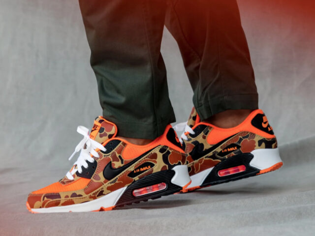 3 for 3: Nike AM 90 'Orange Camo' drops this Tuesday
