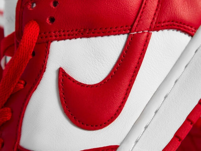 Run with the Red Storm: the Dunk Low 'University Red' drops tomorrow