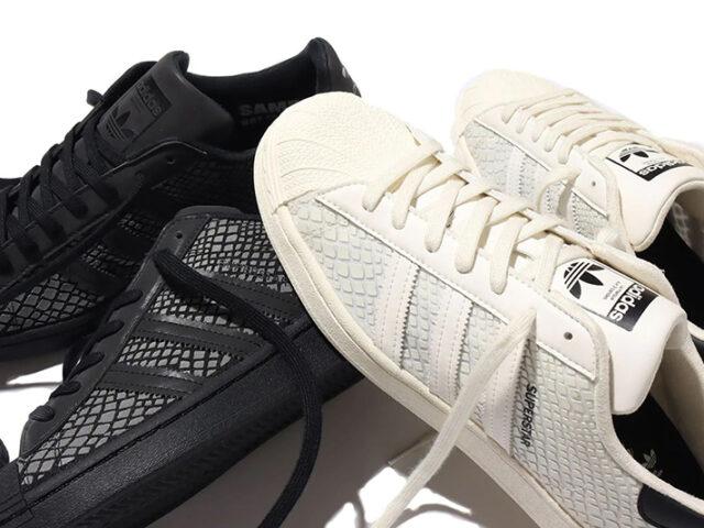 atmos x adidas Superstar 80s 'G-SNK' & 'R-SNK'