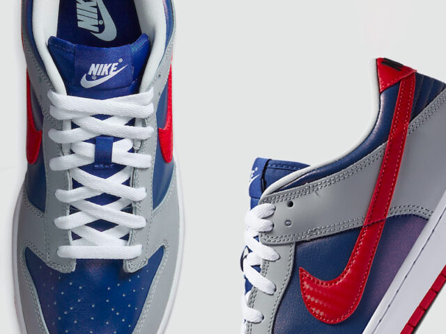 Nike's releasing the coveted Dunk Low 'Samba' this Friday