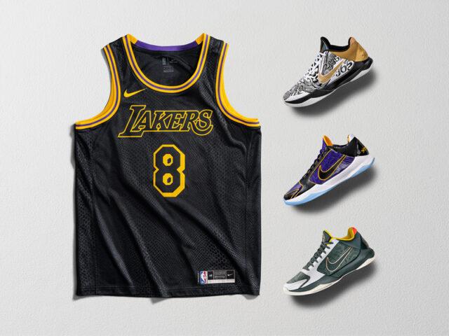 Nike celebrates Kobe with new footwear for Mamba Week