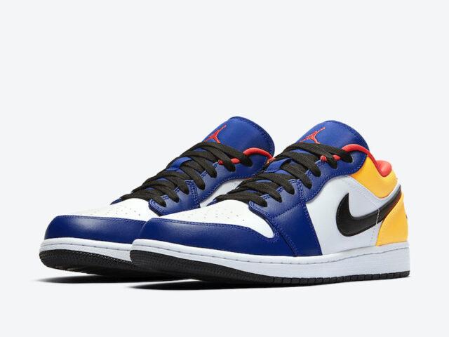 Jordan brings some pop of color to the Air Jordan 1