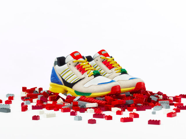 Bricks on Kicks: adidas Originals and LEGO create a unique pair for the A-ZX series