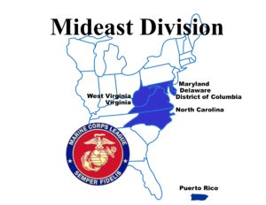MidEast Division logo with Puerto Rico