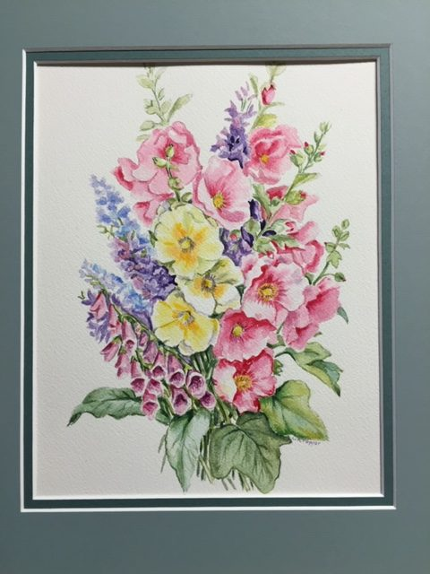 Linda Pepper: Watercolor Flowers