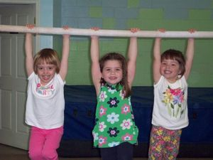 Preschool Gymnastics Classes 3-5 yrs old