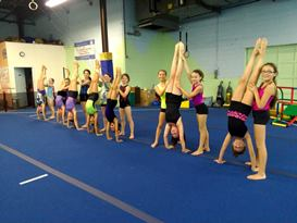 Tumbling Classes Age 6-17