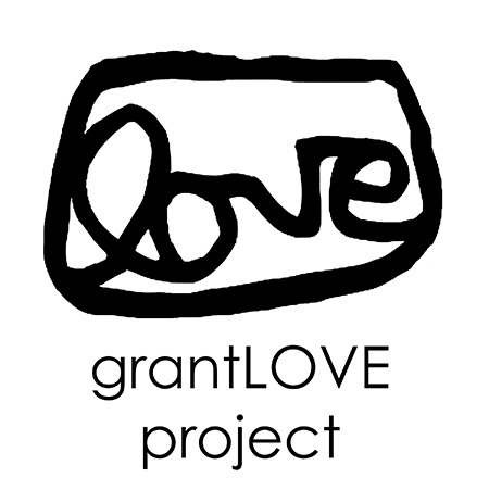 Love written in cursive, grantLOVE project logo