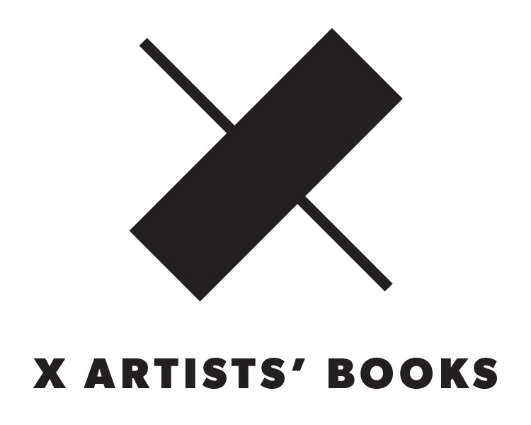 X Artists' Books Logo