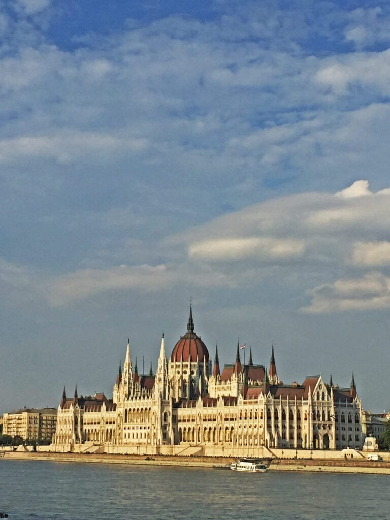 hungarian parliament in budapest hungary