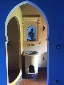 chefchaouen - morocco - hotel