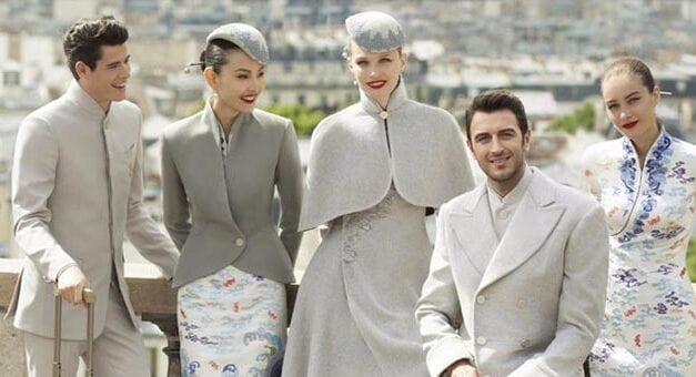 Hainan Airline's New Uniforms   POPSUGAR Fashion Middle East