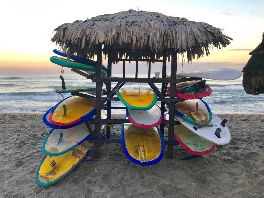 surfing in san juan la union philippines