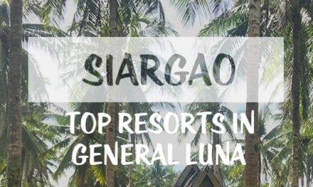 Top Resorts in General Luna: Siargao Islands