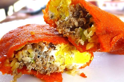 Empanadas are traditional food foods in Vigan