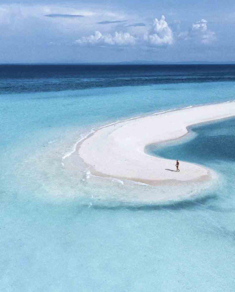 The sandbar at Kota beach in Bantayan Island