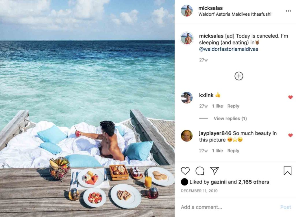 How much to charge per Instagram post