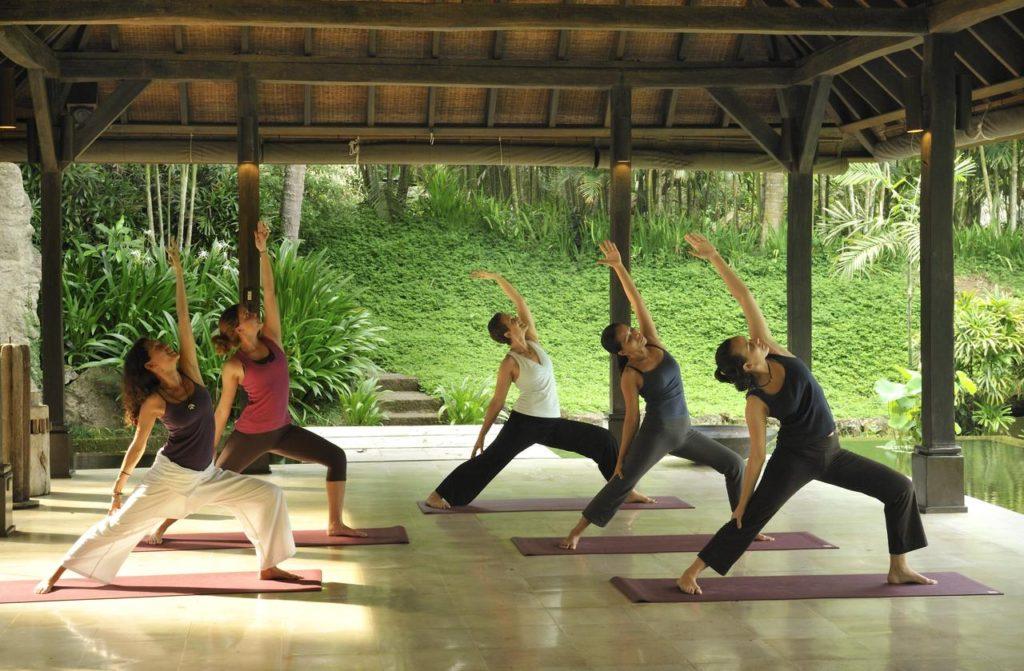 Yoga classes at The Farm San Benito