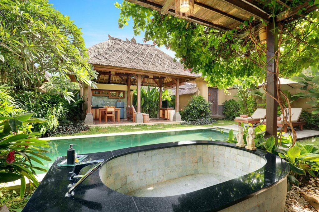 Ubud Nyuh Bali Resort & Spa terrace view
