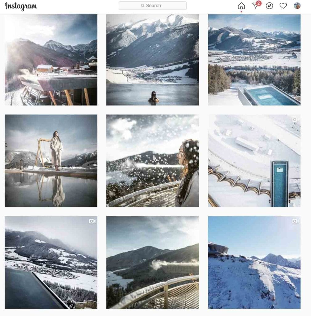 top hotels to follow on Instagram hotel huburtus