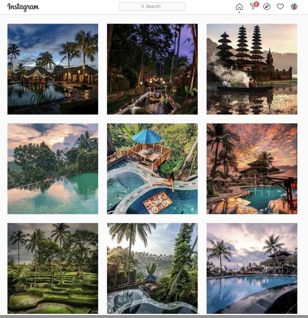 Kamandalu top hotels to follow on Instagram