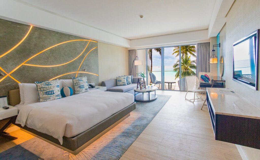 The Lind Boracay hotel room Beachfront resort