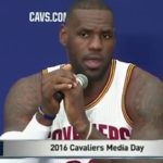 """Lebron James on Colin Kaepernick """"He didn't ask anybody else to join him."""""""