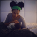 Angela Simmons Shares First Picture of Newborn Son Sutton Tennyson, Jr.